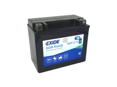 Motobaterie EXIDE BIKE Factory Sealed 10Ah, 12V, AGM12-10 (YTX12-BS) (E4996)