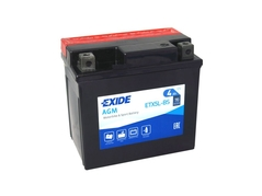 Motobaterie EXIDE BIKE Maintenance Free 4Ah, 12V, YTX5L-BS (E5007)
