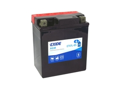 Motobaterie EXIDE BIKE Maintenance Free 6Ah, 12V, YTX7L-BS (E5008)