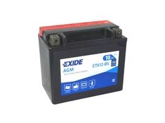 Motobaterie EXIDE BIKE Maintenance Free 10Ah, 12V, YTX12-BS (E5015)