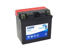 Motobaterie EXIDE BIKE Maintenance Free 6Ah, 12V, YTZ7-BS (E5010)