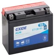 Motobaterie EXIDE BIKE Maintenance Free 10Ah, 12V, YT12B-BS (E5004)