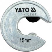 """Rezač trubiek 19/32"""" (15mm) (YT-22353)"""