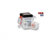 Motobaterie VARTA 6N4-2A-4, 4Ah, 6V (E4177)