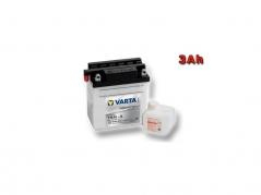 Motobaterie VARTA YB3L-A, 3Ah, 12V (E4188)