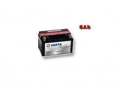 Motobaterie VARTA YTX7A-BS, 6Ah, 12V (E4255)