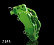 Sada na brzdové prasiatka Foliatec - Power Zelená (2166)