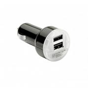 Dvojitá USB nabíječka 2.1m černá (USB100B)
