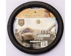 Kožený potah volantu 35-36 cm černý (2505047)