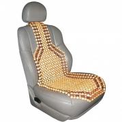 "Potah na sedadlo z dřevěných korálků ""BAOBAB"" (P303005)"