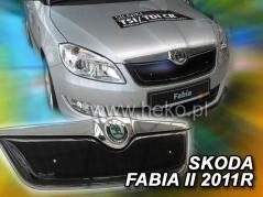 Zimní clona ŠKODA FABIA II od r. 2007 --> 2010 Horná (02043)