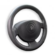 Kožený potah volantu Mária Cavallo černý (30183)