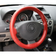 Kožený potah volantu Mária Cavallo červený (30183-1-1-1-1)