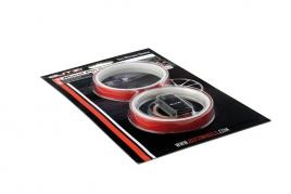 Okrasné pásy na disky červené (BZA56RD)