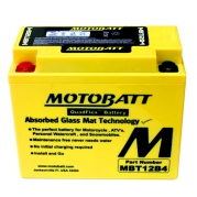 Motobaterie MOTOBATT MBT12B4, 11Ah, 12V (YT12B-BS)