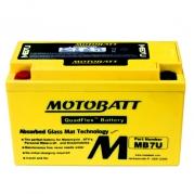 Motobaterie MOTOBATT MB7U, 6,5Ah, 12V (YT7B-BS)