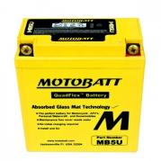 Motobaterie MOTOBATT MB5U, 7Ah, 12V (YB5L-B)