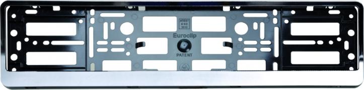 Podložka pod ŠPZ osobní - chróm (AM-0060)