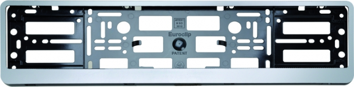 Podložka pod ŠPZ osobní - stříbrná (AM-0084)
