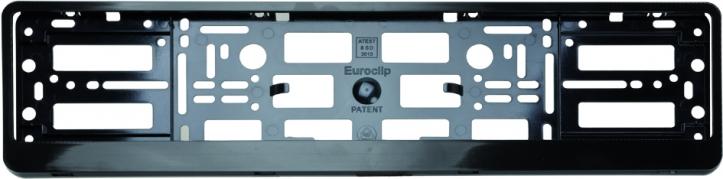Podložka pod ŠPZ osobní - černá (AM-0091)