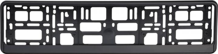 Podložka pod ŠPZ osobní - černá (AM-0824)