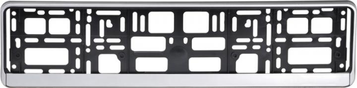 Podložka pod ŠPZ osobní - stříbrná (AM-0831)