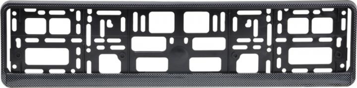 Podložka pod ŠPZ osobní - karbón (AM-0855)
