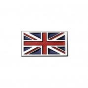 """Emblém """"britská vlajka"""" chrom 70 x 40 mm (LOG1643)"""