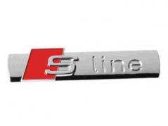 """Emblém """"S-LINE"""" chrom (LOG1694)"""