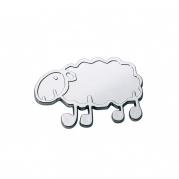 """Emblém """"SHEEP"""" chrom, 57 x 40 mm (LOG1780)"""
