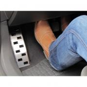 Nerezová opěrka na nohu - Peugeot 208, od r.2012 (25214)