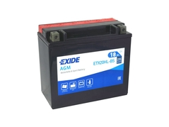 Motobaterie EXIDE BIKE Maintenance Free 18Ah, 12V, YTX20HL-BS (E5614-1)