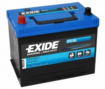 Trakční baterie EXIDE DUAL, 80Ah, 12V, ER350 (ER350)