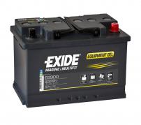 Trakční baterie EXIDE EQUIPMENT GEL, 80Ah, 12V, ES900 (ES900)