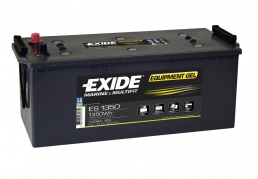 Trakční baterie EXIDE EQUIPMENT GEL, 120Ah, 12V, ES1350 (ES1350)