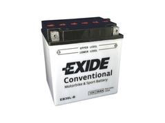 Motobaterie EXIDE BIKE Conventional 30Ah, 12V, YB30L-B (E6631)