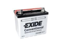 Motobaterie EXIDE BIKE Conventional 24Ah, 12V, U1-9 (E6630)