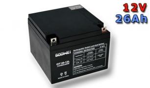 Trakční baterie Goowei AGM OTL26-12, 26Ah, 12V (E4779)