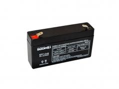 Staniční (záložní) baterie Goowei OT1,3-6, 1,3Ah, 6V (E5195)