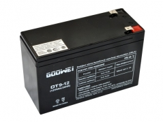 Staniční (záložní) baterie Goowei OT9-12, 9Ah, 12V (E4773)