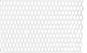 Hliníková mriežka strieborná (AM-9706)
