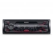 Autorádio SONY, 1DIN s USB a Bluetooth, červené DSXA410BT.EUR (TSS-DSXA410BT.EUR)