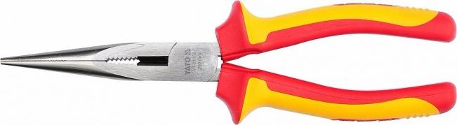 Kliešte predĺžené rovné 200 mm VDE (1000V) (YT-21155)