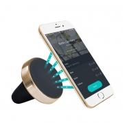Magnetický držiak smartfónu do mriežky ventilácie, zlatý okraj MH MAG GOLD (TSS-MH MAG GOLD)