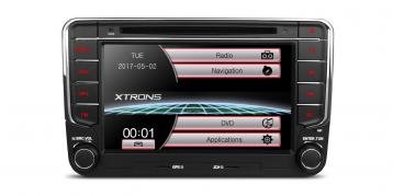 2 DIN autorádio pro VW, Seat, Škoda Xtrons PF73MTV (X_PF73MTV)