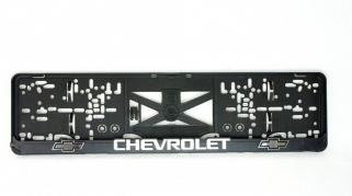 Podložka SPZ 3D - CHEVROLET 2ks (P111P)