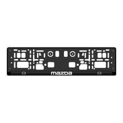 Podložka SPZ 3D - MAZDA 2ks (P117P)