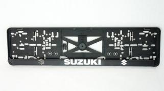 Podložka SPZ 3D - SUZUKI 2ks (P127P)