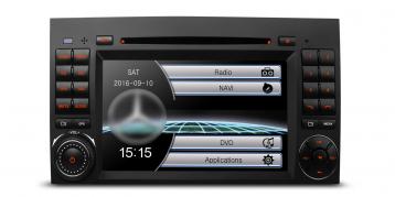 2 DIN Autorádio pre Mercedes Xtrons PF7M245S (X_PF7M245S)