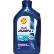Shell Advance AX7 4T 15W-50, 1L (956596 )